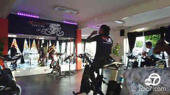 Inglewood community raises $40K to help keep Burn Cycling studio open - KABC-TV