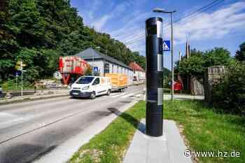 Neue stationäre Anlagen: Diesen Effekt haben die modernen Blitzer in Giengen, Hürben und Hohenmemmingen - Heidenheimer Zeitung