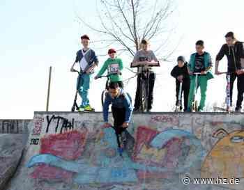 Skaterpark im Schwageareal: Stadt Giengen such das Gespräch mit jungen Skatern - Heidenheimer Zeitung