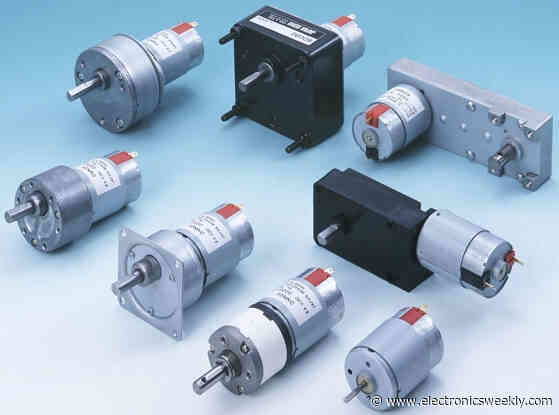 Brushed servo motors and mini-control boards from EMS