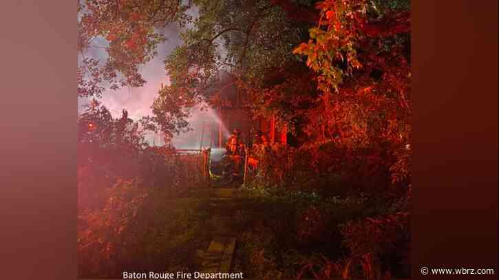 65-year-old man rescued from burning home on Cable Street; authorities searching for arsonist responsible