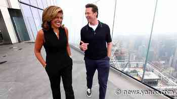 Hugh Jackman tells Hoda about his fierce backgammon competition with his wife - Yahoo News