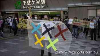 Mass Anti-Olympic protest heard inside stadium during Opening Ceremony - Fox Sports
