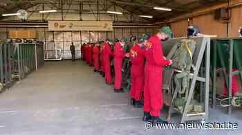 120 jongeren maken hun eerste parachutesprong in trainingscentrum Schaffen