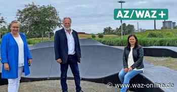 Wolfsburg: Pump Track Anlage im Allerpark - Wolfsburger Allgemeine