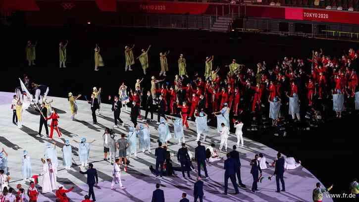Olympia 2021 live: Eröffnungsfeier in Tokio - Wilde Outfits und eingeölte Oberkörper - fr.de