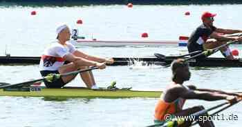 Olympia 2021, Rudern: Oliver Zeidler gewinnt Vorlauf im Einer souverän - SPORT1