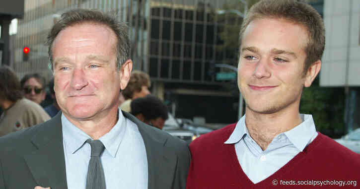 Robin Williams' Son Opens Up About Father's Mental Health
