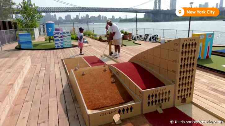 Mini Golf Course With Climate Change Theme Opens in New York