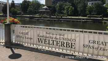 Wird Bad Ems als Great Spa of Europe zum Welterbe erklärt? Entscheidung fällt am Samstag - Rhein-Zeitung