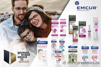 Das tut doppelt gut!, Emcur Gesundheitsmittel aus Bad Ems GmbH, Pressemitteilung - PresseBox