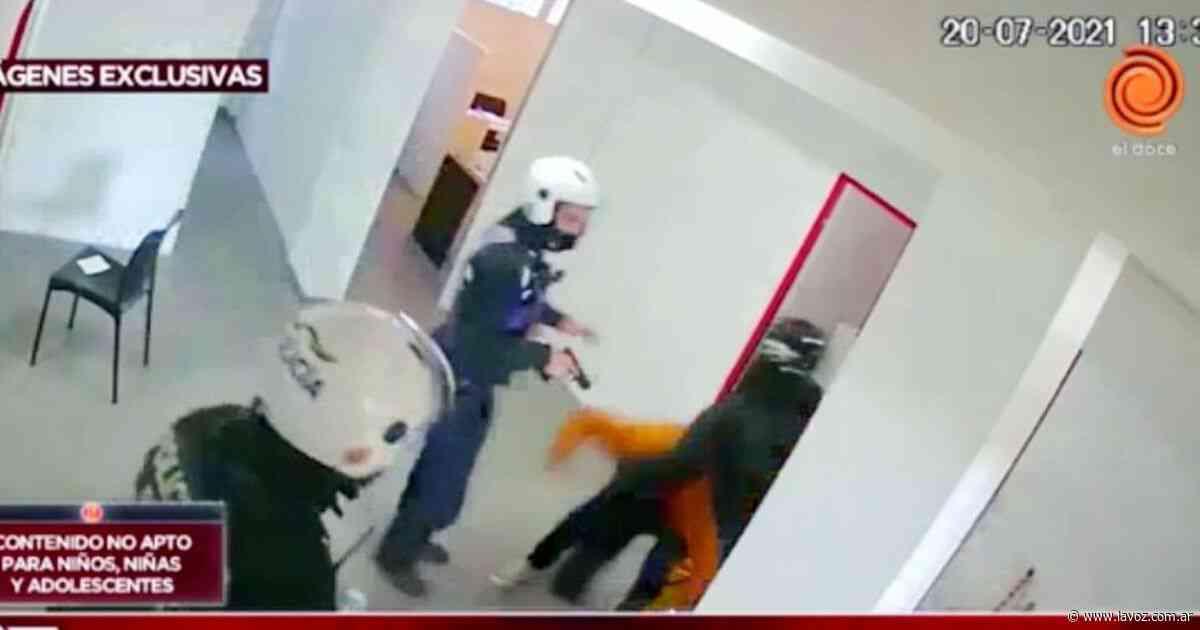 Asalto a la concesionaria en Bella Vista: el video que muestra el robo y cómo atraparon a los ladrones - La Voz del Interior