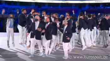 Olympia 2021: Argentinien sorgt für ausgelassene Stimmung bei der Eröffnungsfeier in Tokio - Eurosport DE