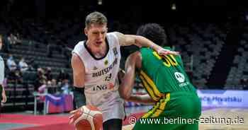 """NBA-Profi Moritz Wagner über Olympia: """"Das wird kein Zuckerschlecken."""" - Berliner Zeitung"""