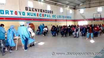 Más de mil pobladores de Los Quiroga y Los Acosta recibieron la vacuna contra el covid - Diario Panorama de Santiago del Estero