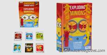 Exploding Kittens Launches Exploding Minions Game | licenseglobal.com - License Global