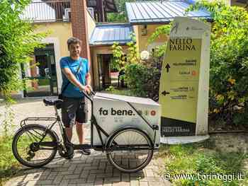 Grugliasco, anche una bici nuova per distribuire il cibo invenduto a chi ne ha bisogno - TorinOggi.it