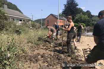 Antwerpse en Puurse brandweermannen ruimen al dagenlang puin in rampgebied