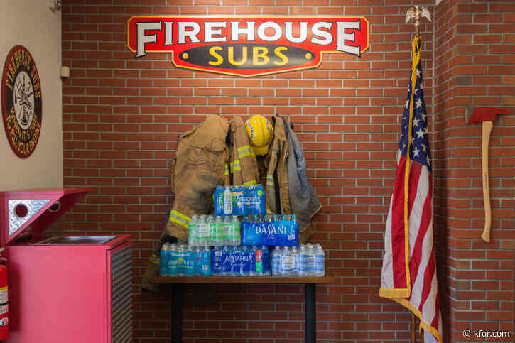 Firehouse Subs offering free sandwiches during bottled water collection drive