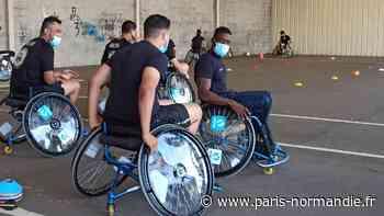 Les élèves de l'école de police de Oissel sensibilisés au handicap - Paris-Normandie