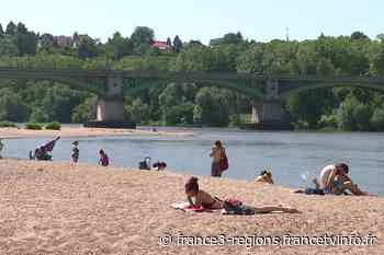 Nièvre : trop d'eau dans la Loire pour se baigner à Nevers Plage pour l'instant - France 3 Régions