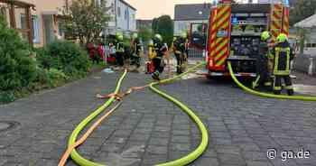 Feuerwehreinsatz in Sankt Augustin am Steglitzer Weg - General-Anzeiger Bonn