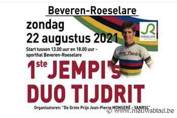 Nu ook duotijdrit ter ere van Jempi Monseré - Het Nieuwsblad
