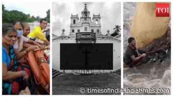 Watch: Goa struggles due to flood-like situation