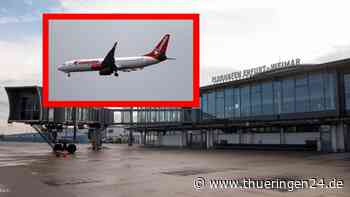 Flughafen Erfurt-Weimar: Flieger aus Türkei landet – böse Überraschung - Thüringen24