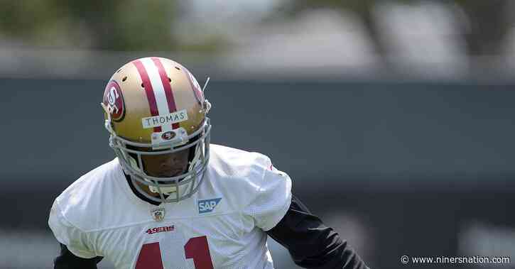 49ers sign third-round draft pick Ambry Thomas to a four-year deal worth $4.7 million