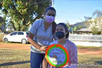 Emotiva jornada de vacunación a adolescentes en Villarrica - Nacionales - ABC Color