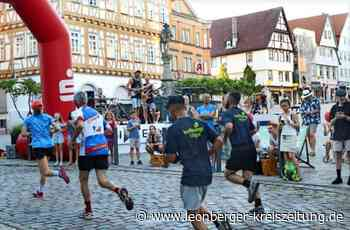 Citylauf Leonberg - Die Corona-Regeln werden eingehalten - Leonberger Kreiszeitung