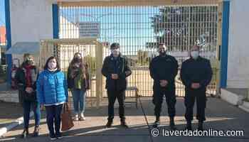 Visita a las UP de Junín de funcionarios del Patronato de Liberados - Diario La Verdad Junín