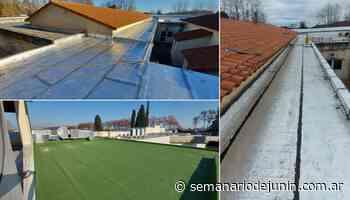 Concluyeron las tareas de refacción de los techos en el HIGA Junín - semanariodejunin.com.ar