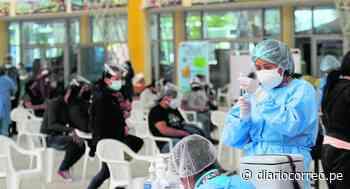 En la región Junín inicia vacunación a 30 mil personas mayores de 30 años - Diario Correo