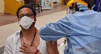 Gobernador regional de Junín recibe primera dosis y pide confiar en la vacuna Sinopharm - Diario Correo