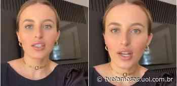 Lorena Carvalho detalha cirurgia lingual feita no filho de 4 meses - UOL