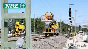 Nach Brückenarbeiten: Züge können wieder durch Wesel rollen - NRZ
