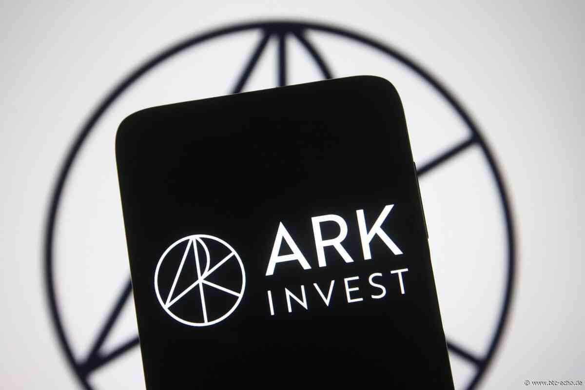 ARK Invest: Cathie Wood kauft mit Grayscale den Bitcoin Dip - BTC-ECHO | Bitcoin & Blockchain Pioneers