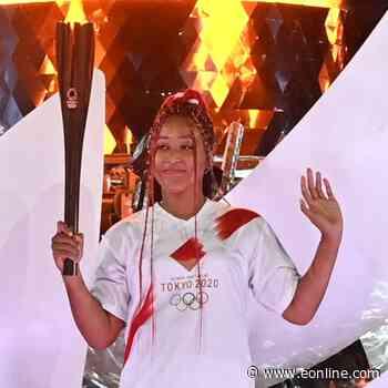 Tennis Star Naomi Osaka Ignites Opening Ceremony as She Lights Olympic Cauldron