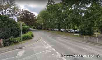 Vulnerable woman pushed around in shopping trolley in Crawley