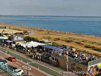 On The Beach party in Brighton this weekend