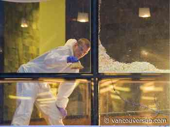 Hotel video shows crowd fleeing fatal Wall Centre shooting - Vancouver Sun