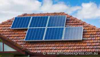 Slow take-up of Vic solar plan for renters - Armidale Express