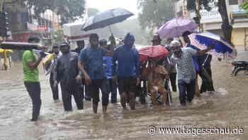 Viele Tote bei Erdrutschen in Indien