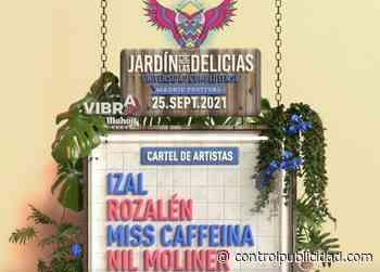 Vibra Mahou patrocina el Festival Jardín de las Delicias, Campañas - Revista Control de Publicidad
