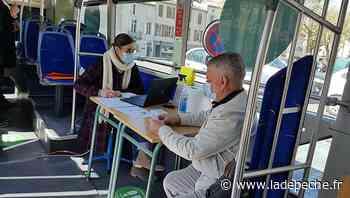 """Comment la ville de Villeneuve-sur-Lot s'adapte au pass sanitaire avec son """"bus-tests"""" avant les concerts ? - LaDepeche.fr"""