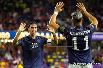 1-0. Costa Rica gana el grupo y se enfrentará a Canadá en cuartos de final - EFE - Noticias