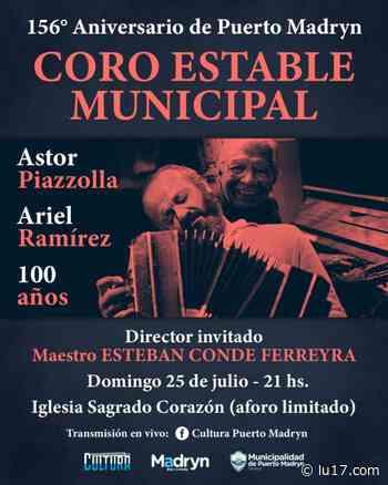CONCIERTO DEL CORO ESTABLE MUNICIPAL - LU17.com - LU17.COM