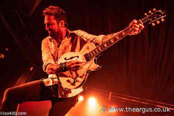 Frank Turner rocks Concorde 2 at gig